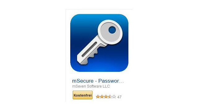 mSecure - Password Manager © mSeven Software LLC