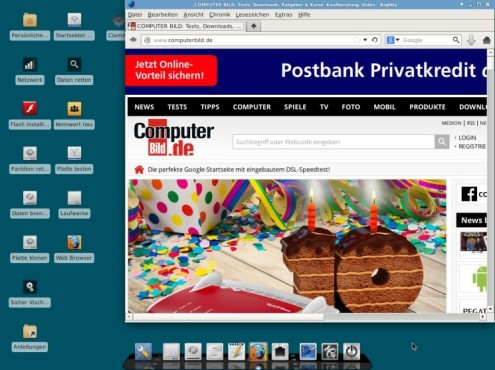 COMPUTER BILD-Notfall-DVD Free ©COMPUTER BILD