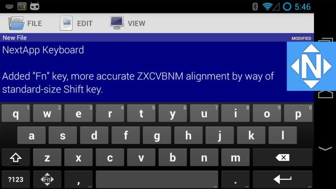 NextApp Keyboard ©NextApp, Inc.