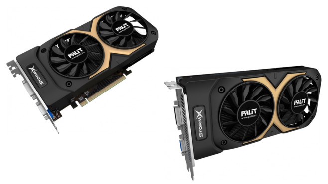 Palit XpertVision Geforce GTX 750 Ti StormX Dual 2048MB GDDR5 © Palit/XpertVision