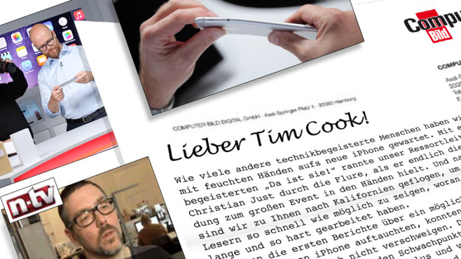 Open Letter to Tim Cook © COMPUTER BILD