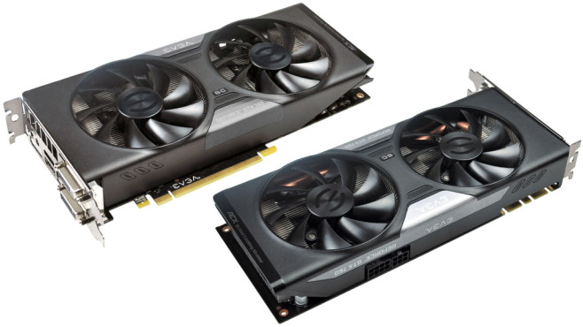 EVGA GeForce GTX 760 Superclocked w/ ACX Cooler 2048MB GDDR5 © EVGA