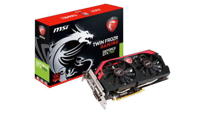 MSI N760 TF 2GD5/OC (2048MB) © MSI