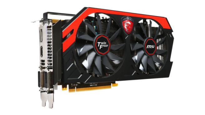 MSI N770 TF 2GD5/OC (2048MB) © MSI