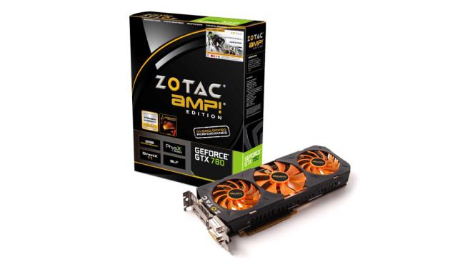 Zotac Geforce GTX 780 AMP! Edition 3072MB GDDR5 ©Zotac