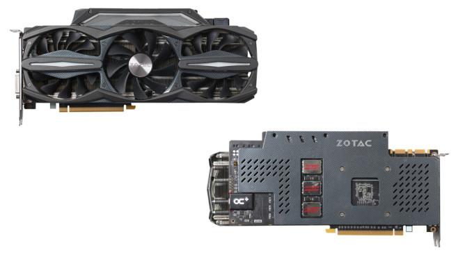 Zotac Geforce GTX 980 AMP! Extreme Edition 4096MB GDDR5 ©Zotac