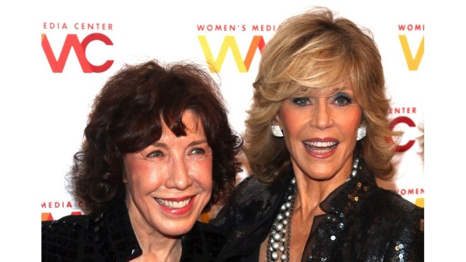 Lily Tomlin und Jane Fonda © 2013 Paul Zimmermann / Getty Images