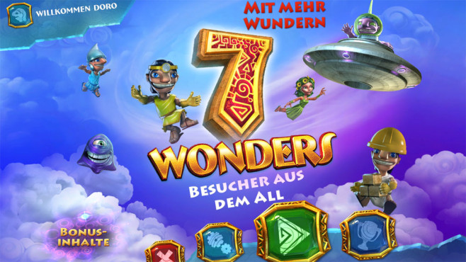 7 Wonders 5 – Besucher aus dem All Sammleredition © Intenium