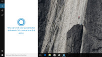 Cortana hört aufs Wort ©COMPUTER BILD