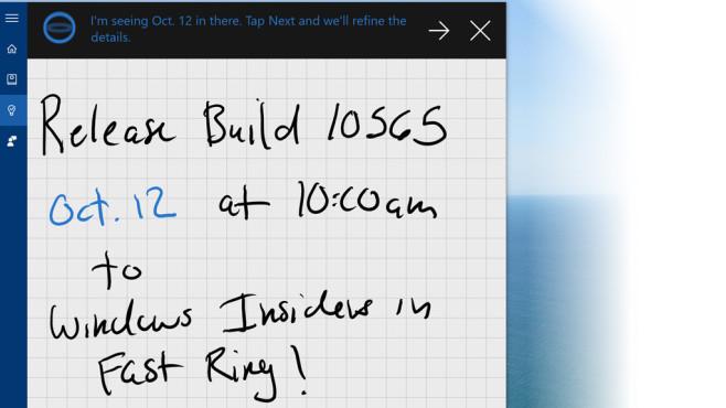 Neue Funktionen für Cortana ©Microsoft