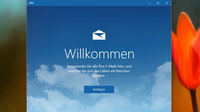 Verbesserte Mail-App ©COMPUTER BILD