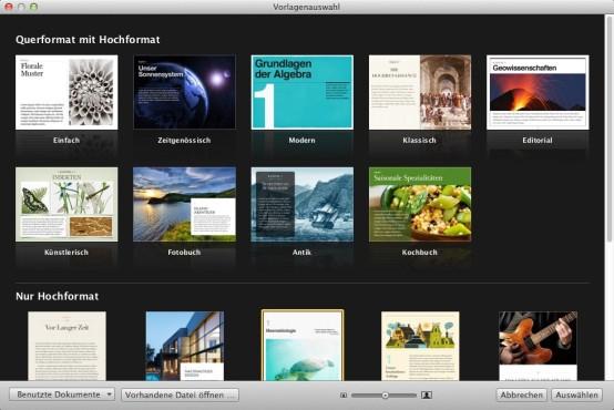 iBooks Author für Mac ©COMPUTER BILD