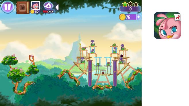 Angry Birds Stella ©Rovio Mobile