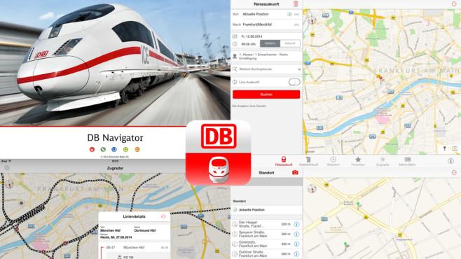 DB Navigator ©Deutsche Bahn