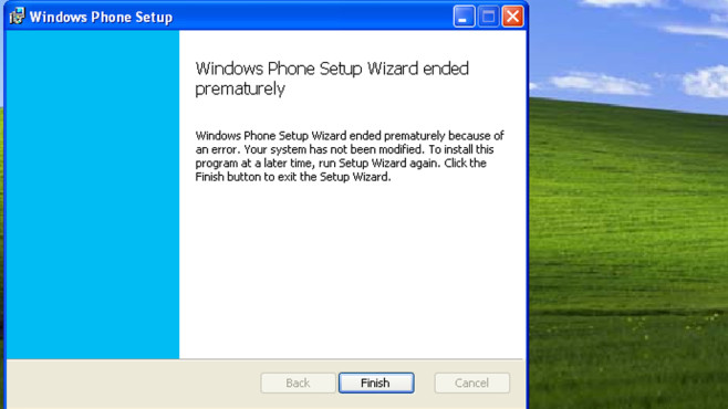 Windows Phone Desktopanwendung © COMPUTER BILD