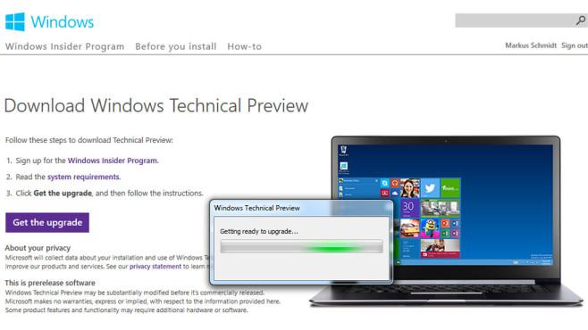 Patch ermöglicht Wechsel von Windows 7 auf 10 ©COMPUTER BILD