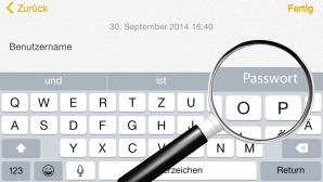 iOS 8 Apple iPhone Password passwort Quicktype ©Apple, Michael Nivelet – Fotolia.com