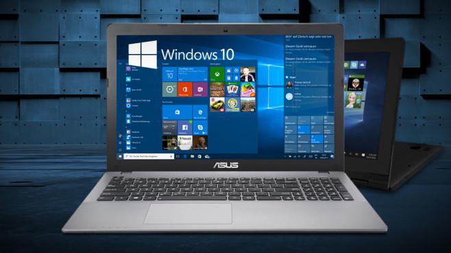 Windows-10-Startseite ©Microsoft, Asus, Vidady – Fotolia.com