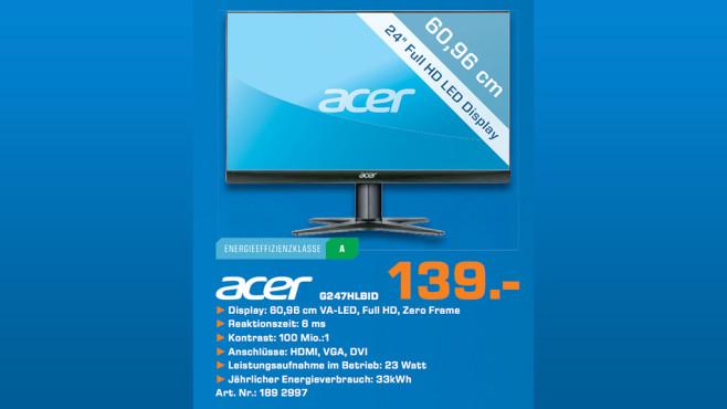 Acer G247HL ©Saturn