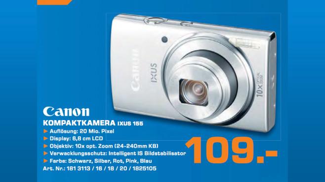 Canon IXUS 155 ©Saturn