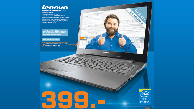 Lenovo Ideapad G50-70 (59430134) © Saturn