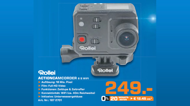 Rollei Actioncam 6S WiFi © Saturn