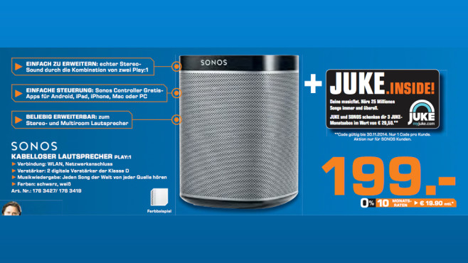 Sonos Play:1 ©Saturn