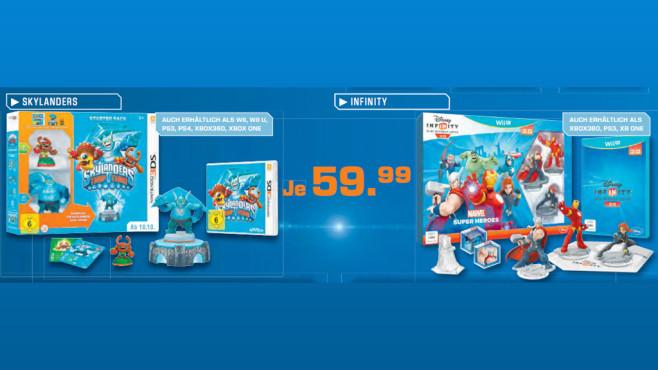 Spiele-Software für verschiedene Plattformen ©Saturn