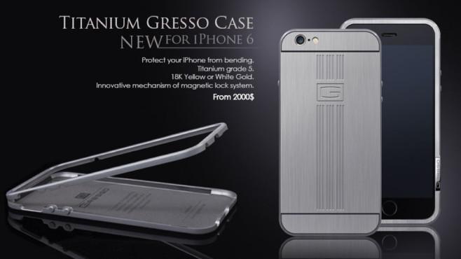 Gresso Titanium Case ©Gresso