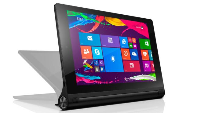 lenovo yoga tablet 2 angetestet computer bild. Black Bedroom Furniture Sets. Home Design Ideas