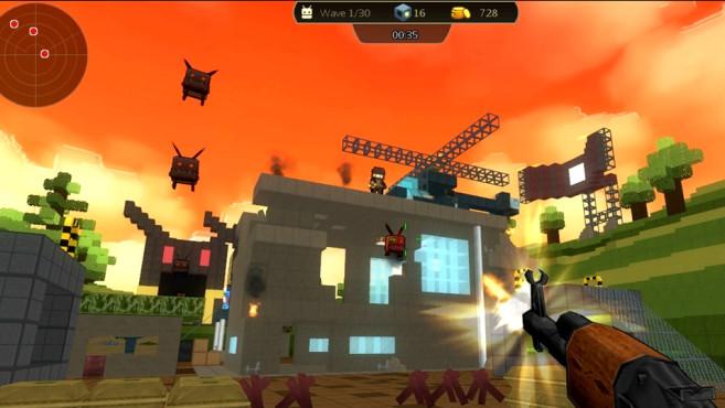 Brick-Force ©Exe Games Inc.