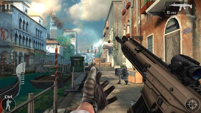 Modern Combat 5: Blackout ©Microsoft