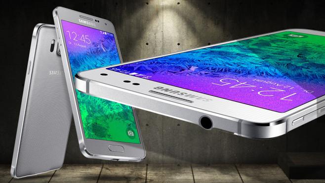 Samsung Galaxy Alpha ©Samsung