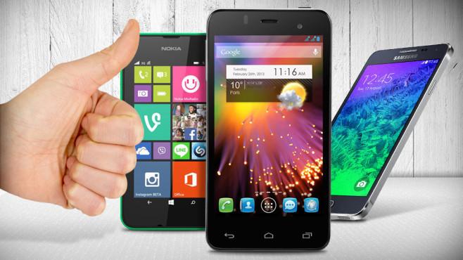 Top-Geräte für wenig Geld: Die Preis-Leistungs-Hits ©Alcatel, Nokia, Samsung, sasel77 - Fotolia.com, Coloures-pic - Fotolia.com