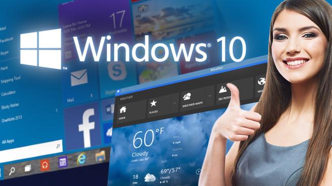 Windows 10 ©Yuriy Shevtsov - Fotolia.com, Microsoft