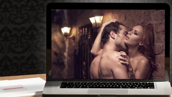 Pornofilm auf Notebook ©BlueSkyImages - Fotolia.com, Shutter81 – Fotolia.com