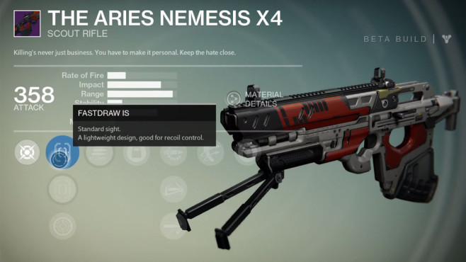 Destiny: The Aries Nemesis X4 © Activision