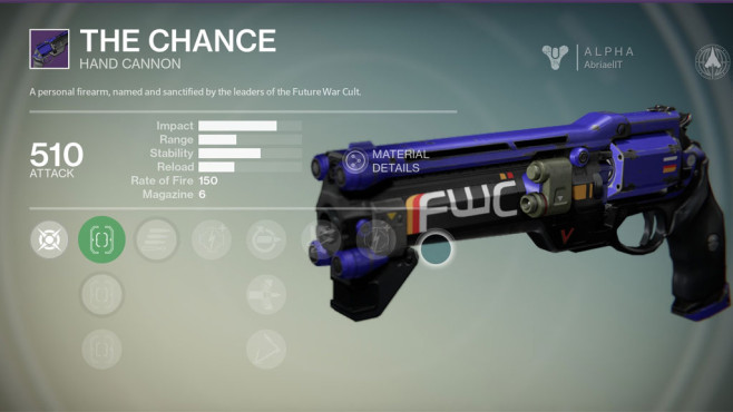 Destiny: The Chance © Activision
