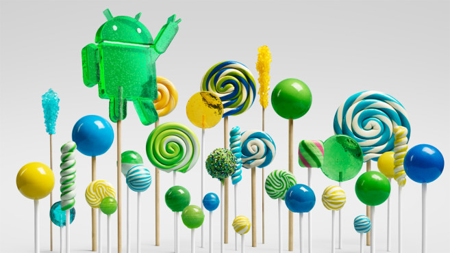 Android 5 (Lollipop) © Google Inc.