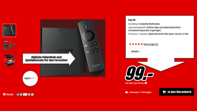 Fire TV © Media Markt