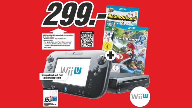 Nintendo Wii U Mario Kart 8 Premium Pack ©Media Markt