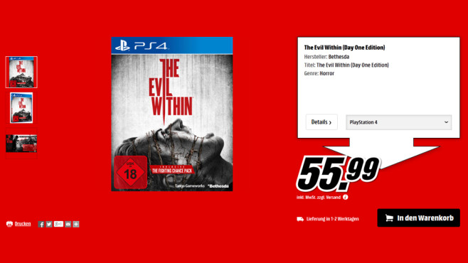 The Evil Within © Media Markt