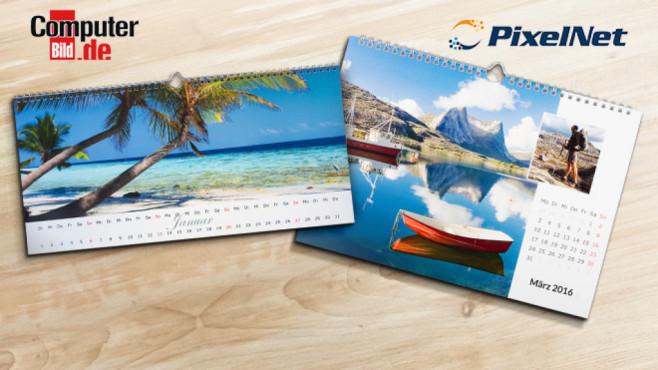 Pixelnet-Kalender ©Pixelnet