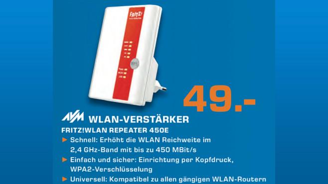 AVM FRITZ!WLAN Repeater 450E ©Saturn