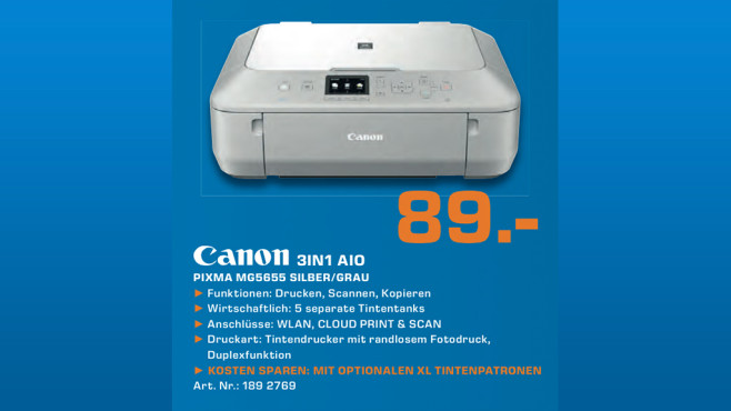 Canon PIXMA MG5655 ©Saturn