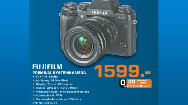 Fujifilm X-T1 Kit 18-55 mm ©Saturn
