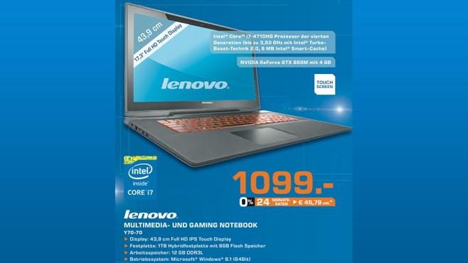 Lenovo Y70-70 ©Saturn