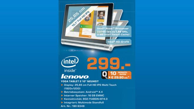 Lenovo Yoga Tablet 2 (59426282) ©Saturn