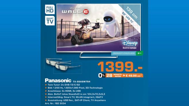 Panasonic TX-55ASW754 ©Saturn