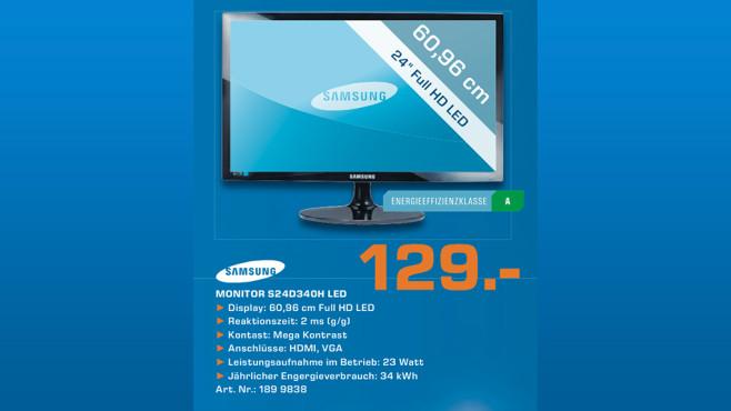 Samsung S24D340H ©Saturn